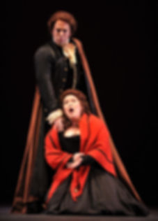Vale Rideout as Don Ottavio in Tulsa Opera's production of Don Giovanni