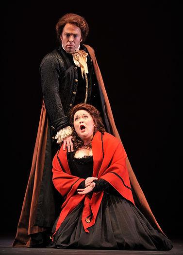 Vale Rideout as Don Ottavio in Tulsa Opera's production of Don Giovanni