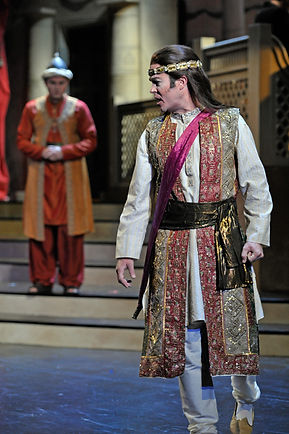 Vale Rideout, Tenor as Tamino in The Magic Flute with Opera Saratoga