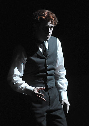 Vale Rideout, Tenor as Peter Quint in Britten's The Turn of the Screw at Central City Opera