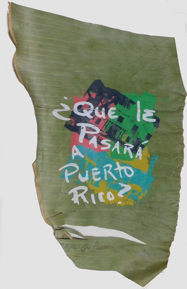 Que le pasara a Puerto Rico?