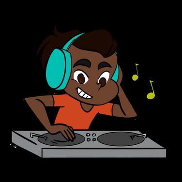 CCA LRC DJ Mascot 2019