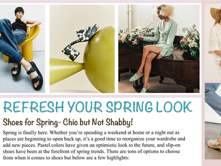 Refresh Your Spring Look