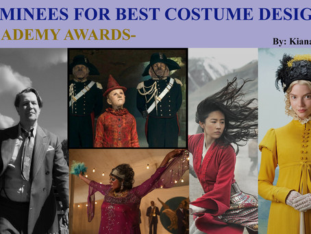 Nominees for Best Costume Design