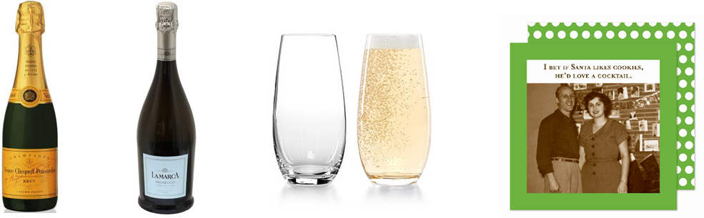 Holiday Gift Ideas - Champagne