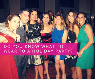 Do You Know What To Wear To A Holiday Party?