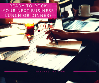 Ready to Rock Your Next Business Lunch or Dinner?