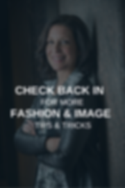 Fashion and image tips and tricks