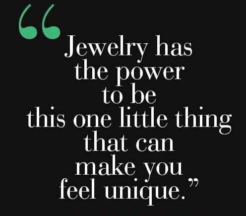 Quote about Jewelry