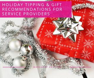 Holiday Tipping & Gift Recommendations for Service Providers