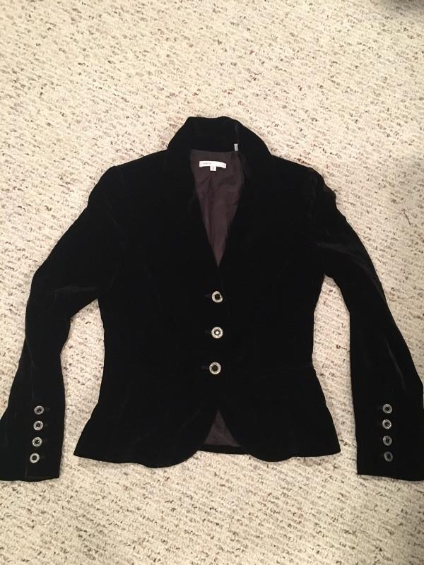 Velvet women's jacket