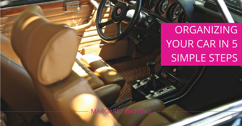Organize your car in 5 steps