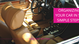 Organizing Your Car in 5 Simple Steps