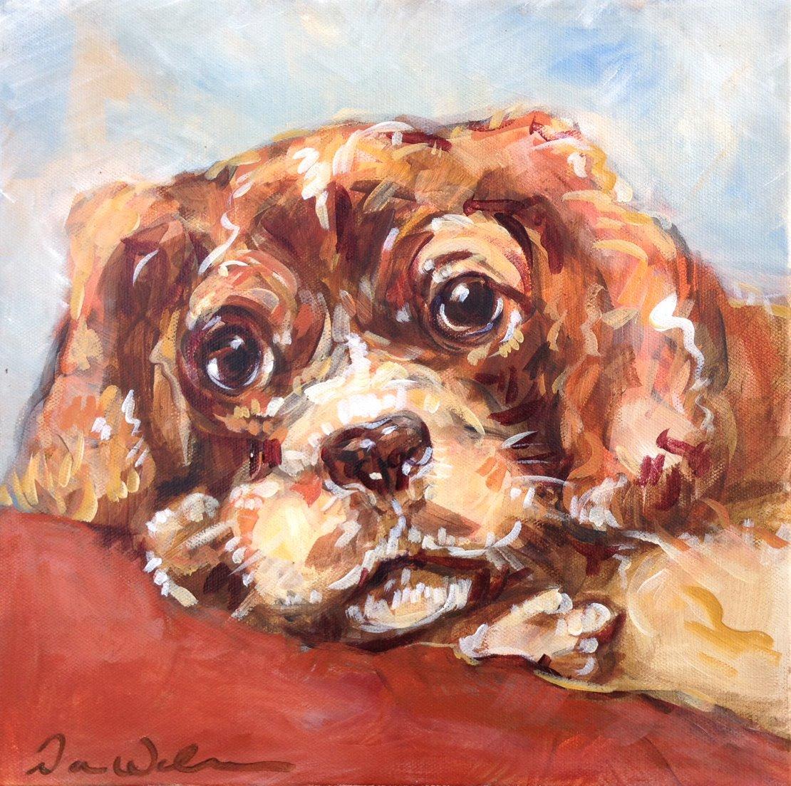 painting_dog_spaniel