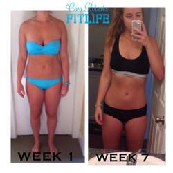 7 week progress