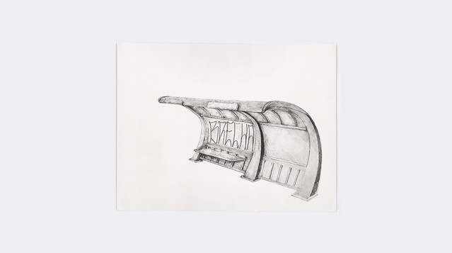 Brecha, lápis s/ papel