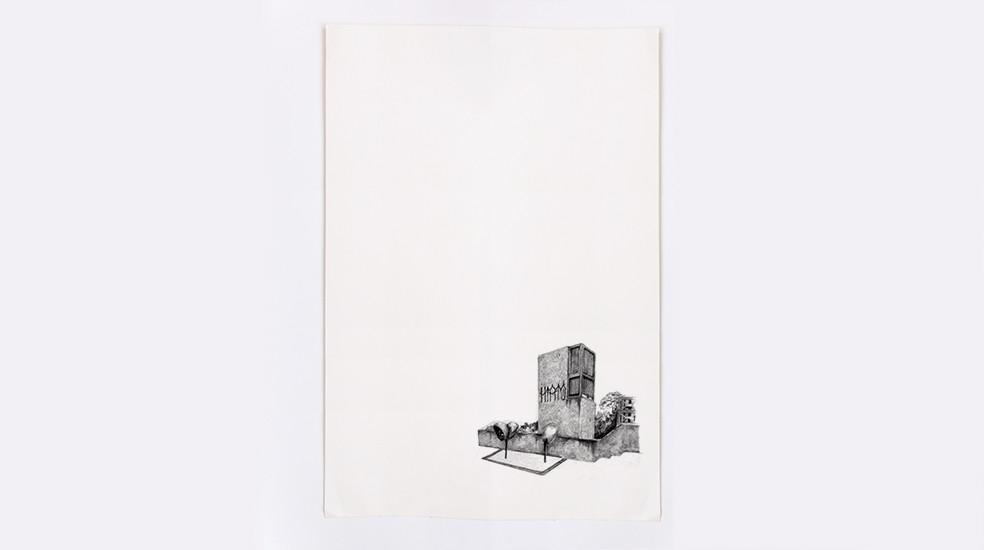 Lacuna, lápis s/ papel
