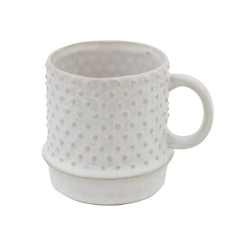 Hobnail Vintage Mug