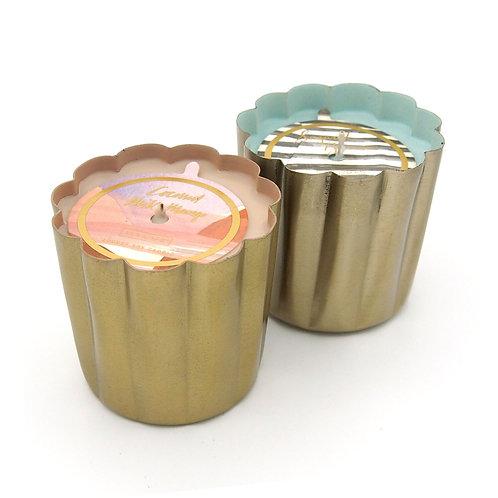 Illume Mini Metal Candle