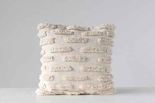 """Elise Cotton Slub Pillow 20"""""""