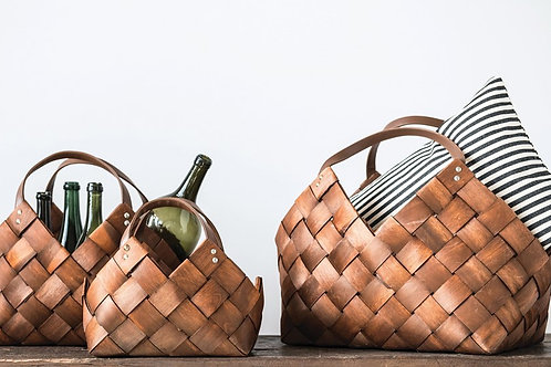 Sonoma Woven Baskets with Handles | Set of 3