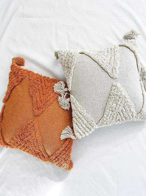 Bohemian Tassel Pillow Cover