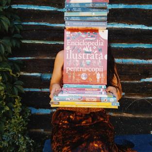 A sosit un pachet de cărți nou-nouțe de enciclopedii și beletristică, comandate de către dl Johnny Bîtea de la Editura Litera, donație pentru viitoarea bibliotecă sătească