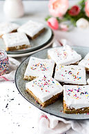 Blondies with Icing