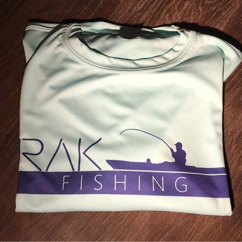Sea foam RAKFISHING shirt (longsleeve)