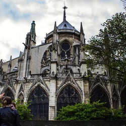 The Notre Dame Cathedral and all its glory _)_#Paris #NotreDame #NotreDameCathedral #Architecture #F