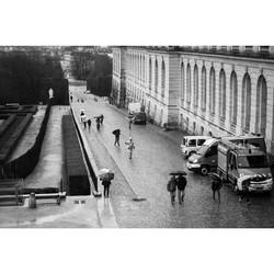 #Versailles #rainydaysinparis #france #blackandwhite