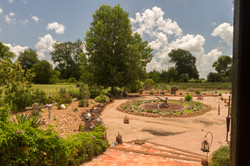 Garden beside the pond