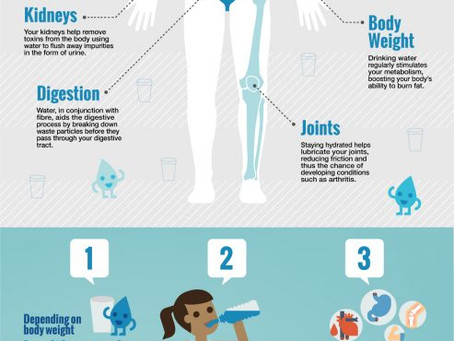 The Healthy Benefits of Staying Hydrated