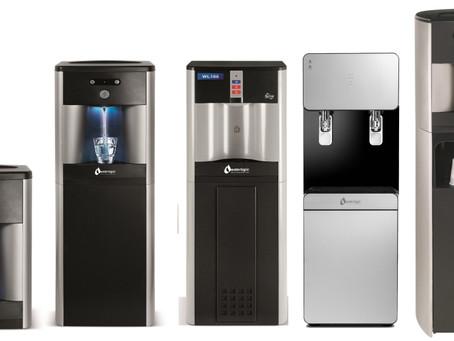 Refroidisseur d'eau sans bouteille vs distributeur d'eau de 5 gallons