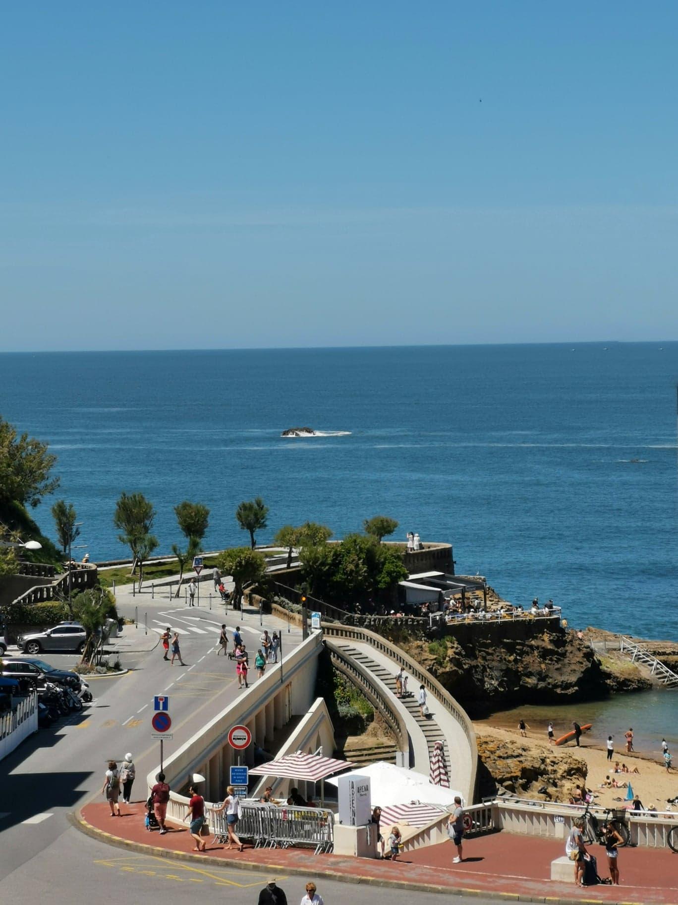 Vue Océan à Biarritz