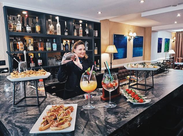 cocktail bar hôtel georges 6 biarritz plage
