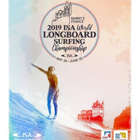 Championnats du monde de Longboard 2019 à Biarritz.