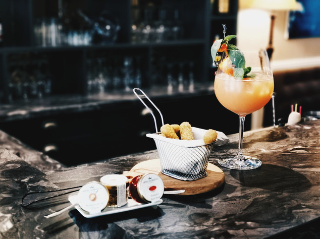 cocktail bar hôtel biarritz bord de mer