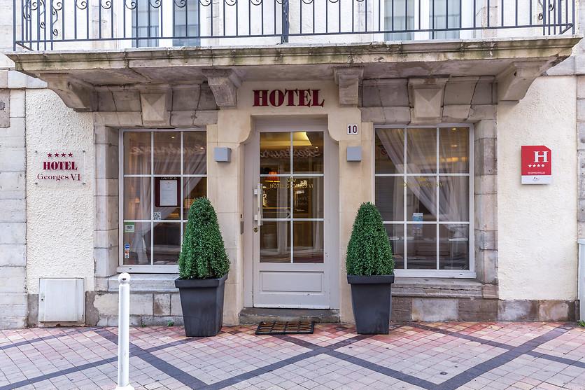 Entrée Hôtel GEORGES VI Biarritz