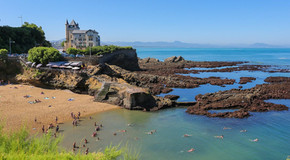 Playa de Port Vieux a 20m del hotel