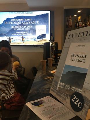 Vernissage Odisea Expeditions Hotel Georges VI Biarritz Damien Castera Greg Rabejac Mathieu Crepel