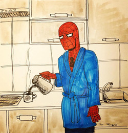 The Mundane Spider-Man