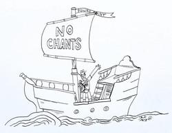 NO CHANTS