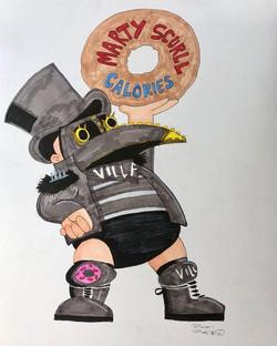 Calories donut