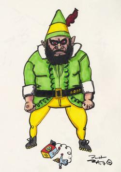 The Monster Among Elves