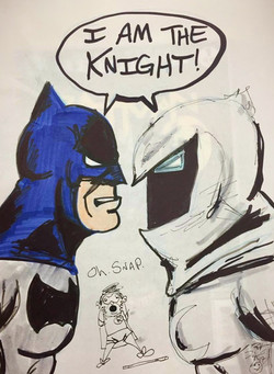Dark Knight meets Moon Knight
