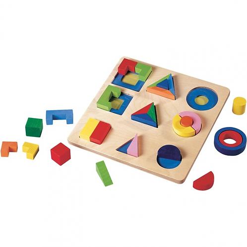 Сортер с геометрическими фигурами GOGO