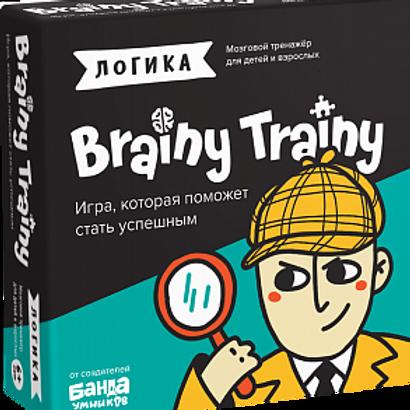 Игра-головоломка BRAINY TRAINY Логика