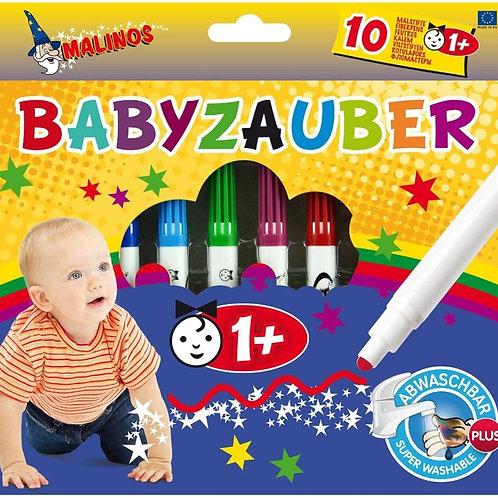 Фломастеры на водной основе Malinos Babyzauber для малышей