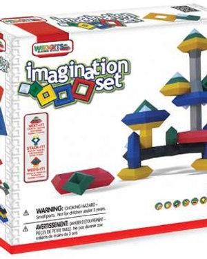 """Конструктор WEDGITS """"Imagination Set"""" 35 деталей"""